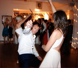 """Do not act creepy while dancing with her"""
