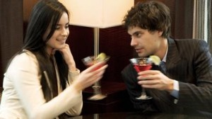 """Befriend her by buying her a drink"""