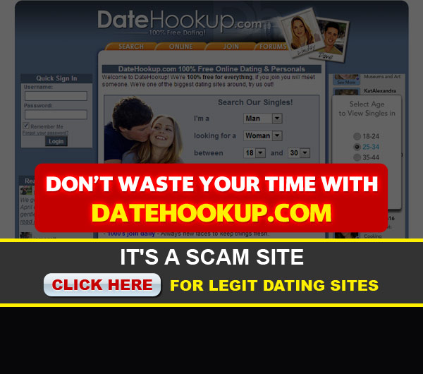 datehookup home screen image