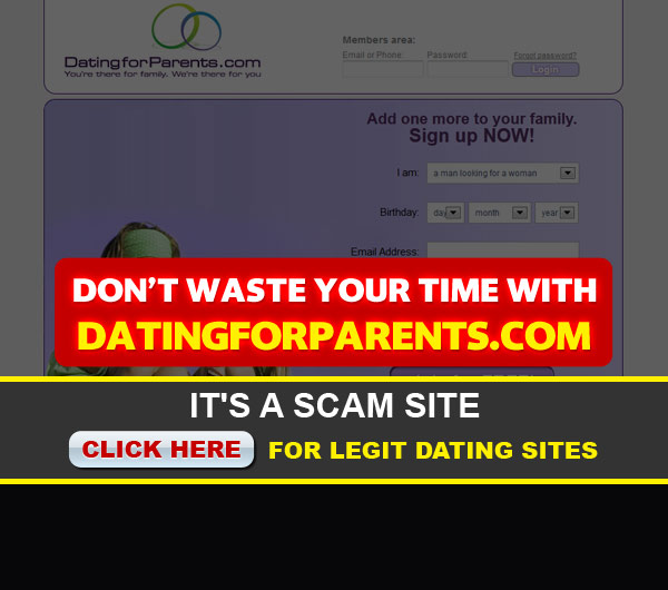 homepage for datingforparents image